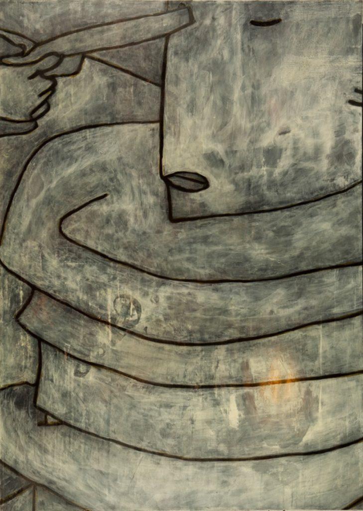 Magnifikation 3, Acryl auf Nessel, 140 x 100 cm