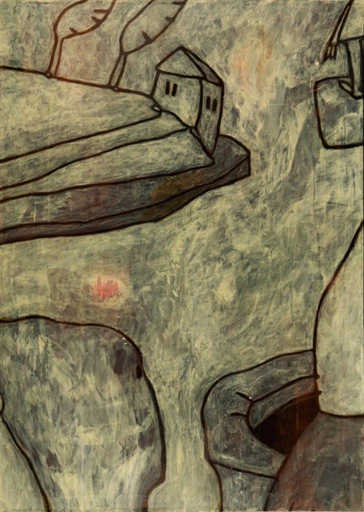 Magnifikation 4, Acryl auf Nessel, 140 x 100 cm