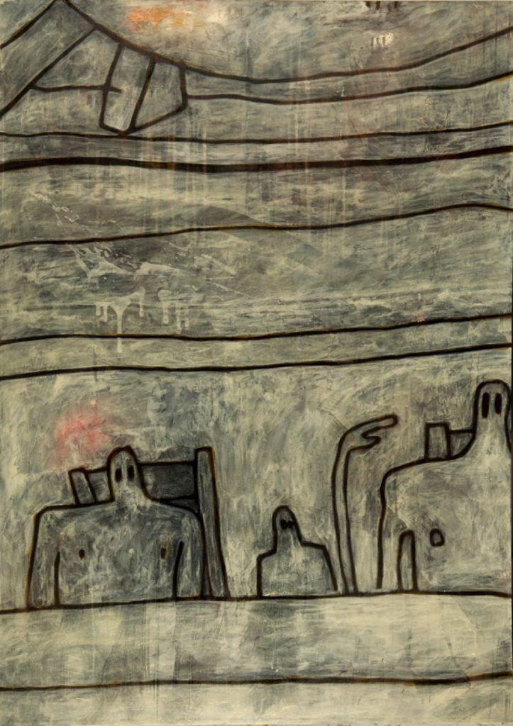 Magnifikation 5, Acryl auf Nessel, 140 x 100 cm