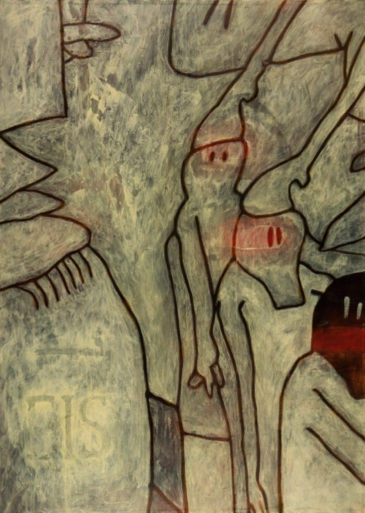 Magnifikation 6, Acryl auf Nessel, 140 x 100 cm
