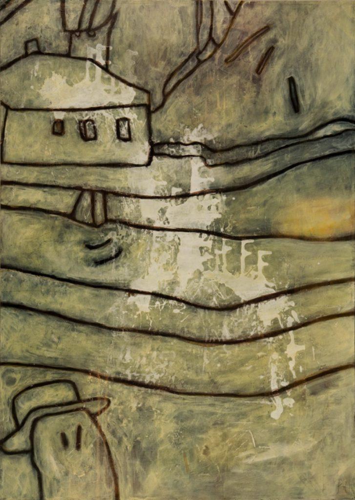 Magnifikation 7, Acryl auf Nessel, 140 x 100 cm